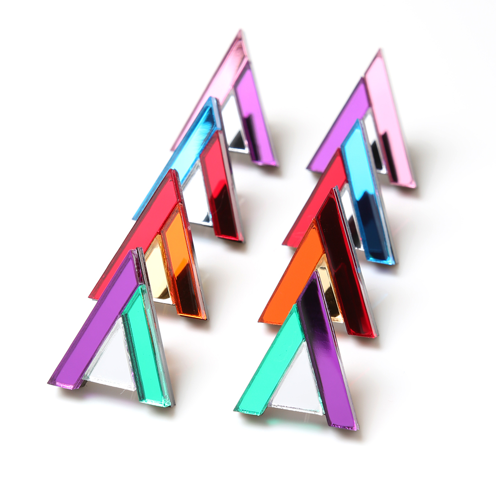 EVANGELION Acrylic Studs Earrings 01 by MYSTIC FORMS (MARI)