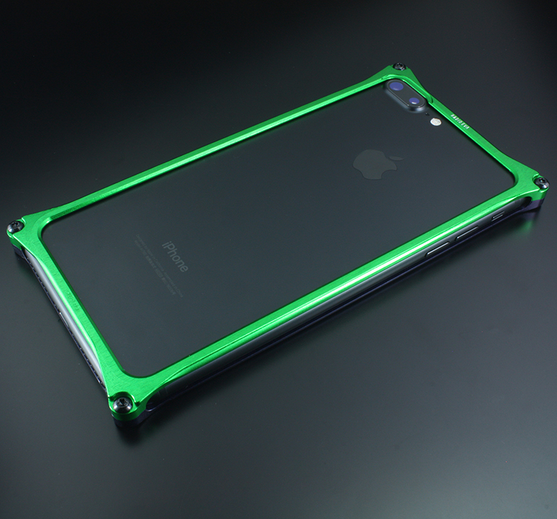 Solid Bumper for iPhone7Plus/8Plus (EVANGELION Limited) (Purple×Green(初号機))