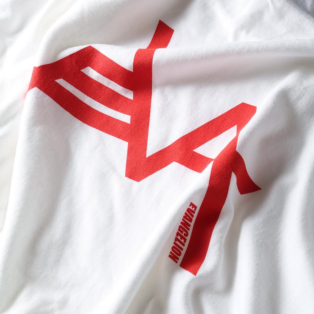 EVANGELION Solid Line Logo Cutsew (ホワイト)