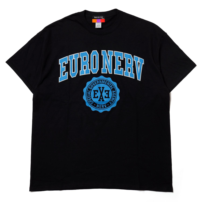 EURO NERV COLLEGE T-Shirt (BLACK)
