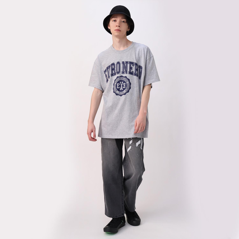 EURO NERV COLLEGE T-Shirt (GRAY)