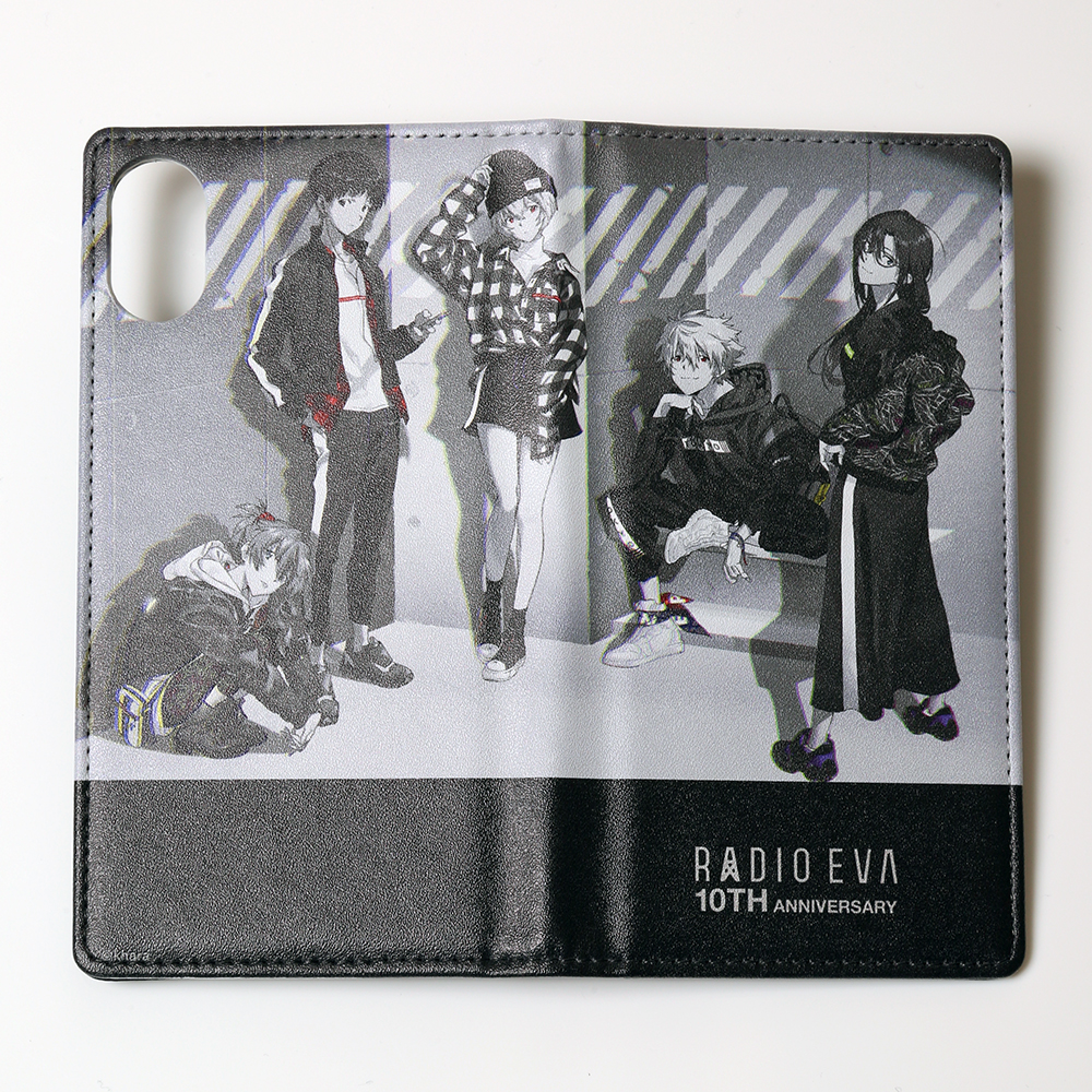 RADIO EVA 10TH ANNIVERSARY:2nd iPhone X/XS Diary Case by Gizmobies