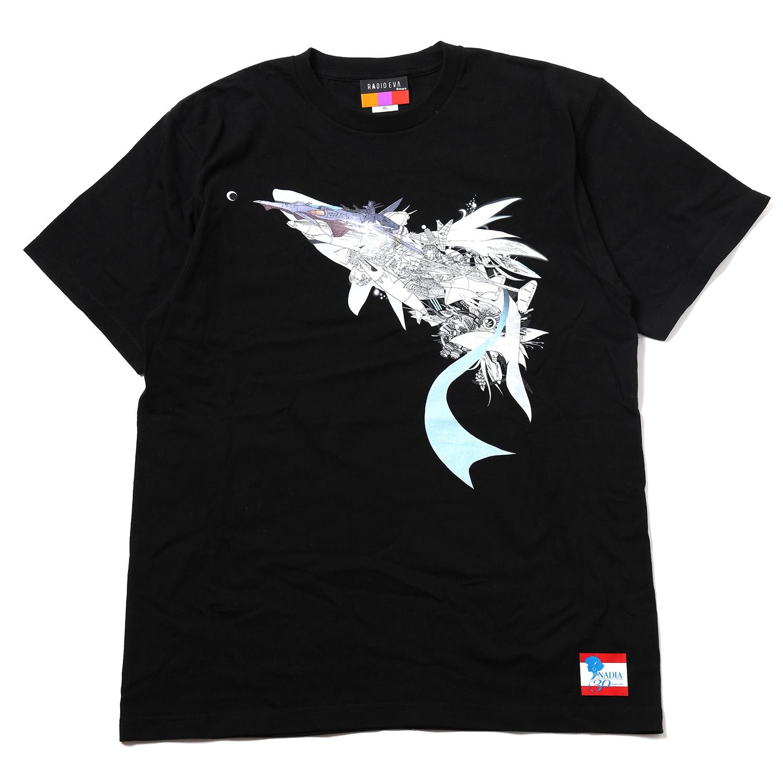 NADIA ν-NAUTILUS T-Shirt by KENTA KAKIKAWA (BLACK)