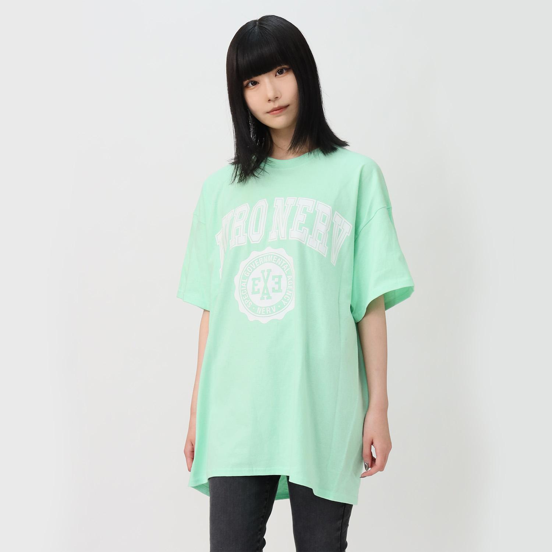 EURO NERV COLLEGE T-Shirt (MINT GREEN)