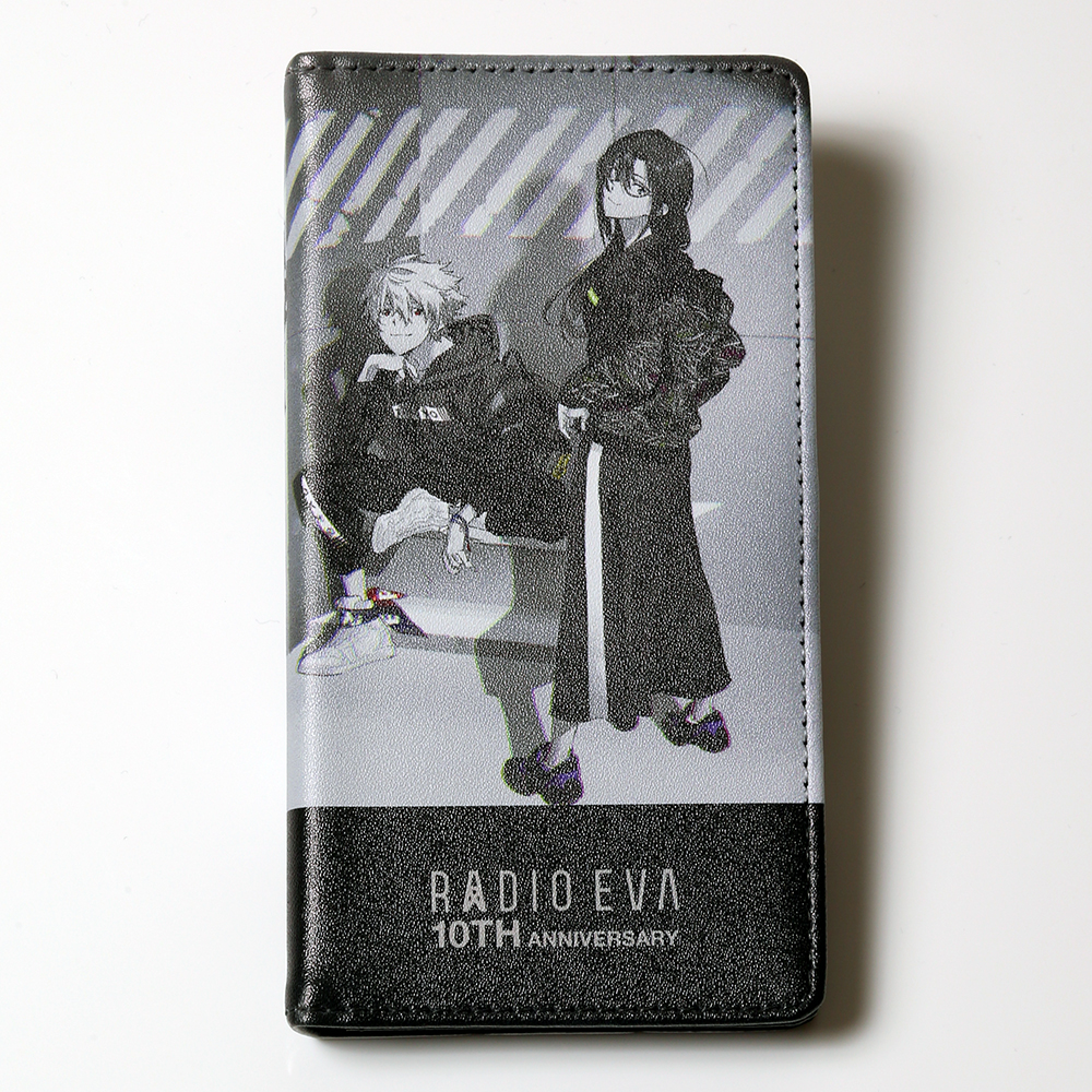 RADIO EVA 10TH ANNIVERSARY:2nd iPhone 6/6s/7/8 Diary Case by Gizmobies