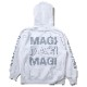 NEW MAGI SYSTEM Parka (WHITE× GRAY)