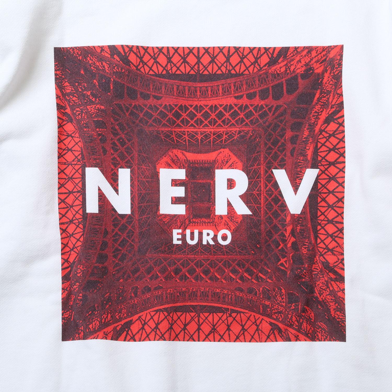 EURO NERV BOX LOGO Parka (ホワイト)