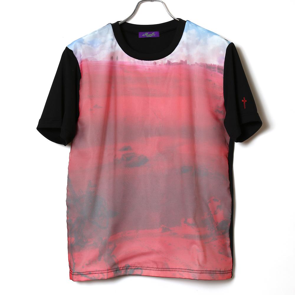 EVANGELION Organdy T-Shirts (ブラック)