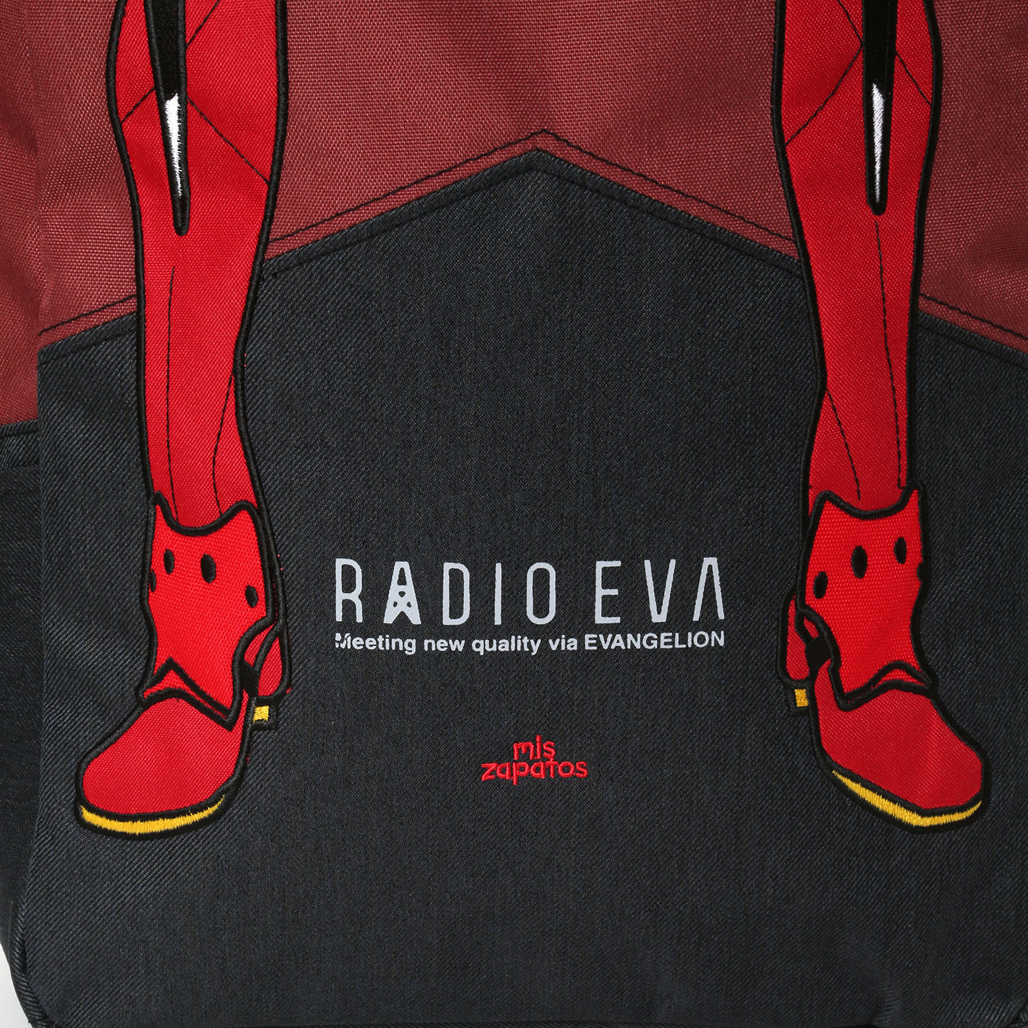 EVANGELION Bicolor Back Pack by mis zapatos (レッド(2号機))