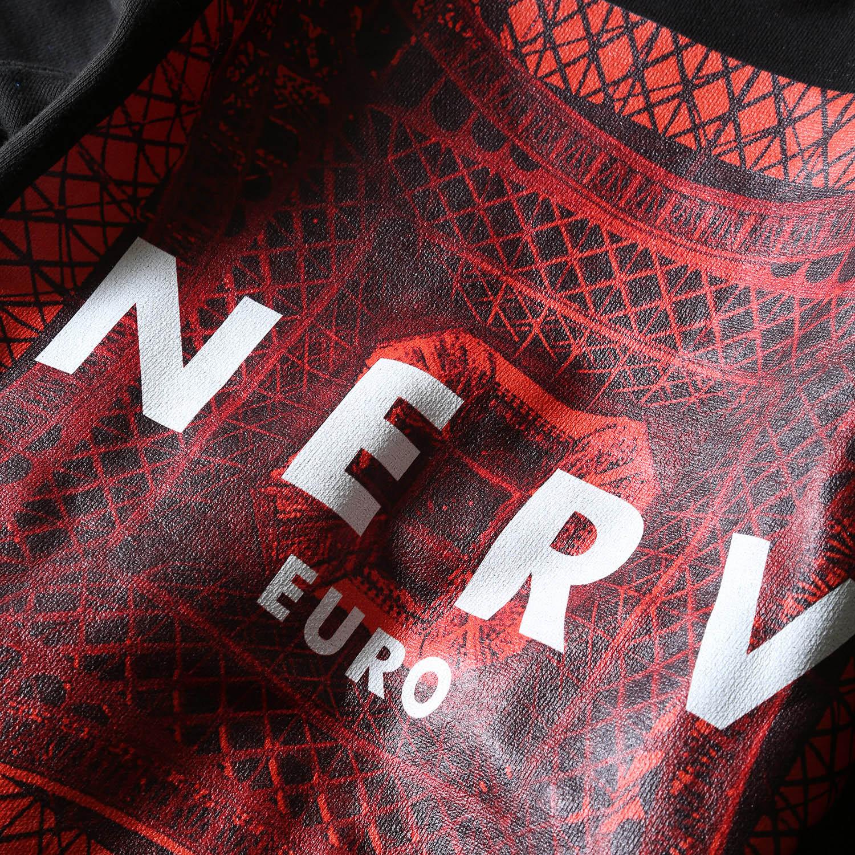 EURO NERV BOX LOGO Parka (ブラック)
