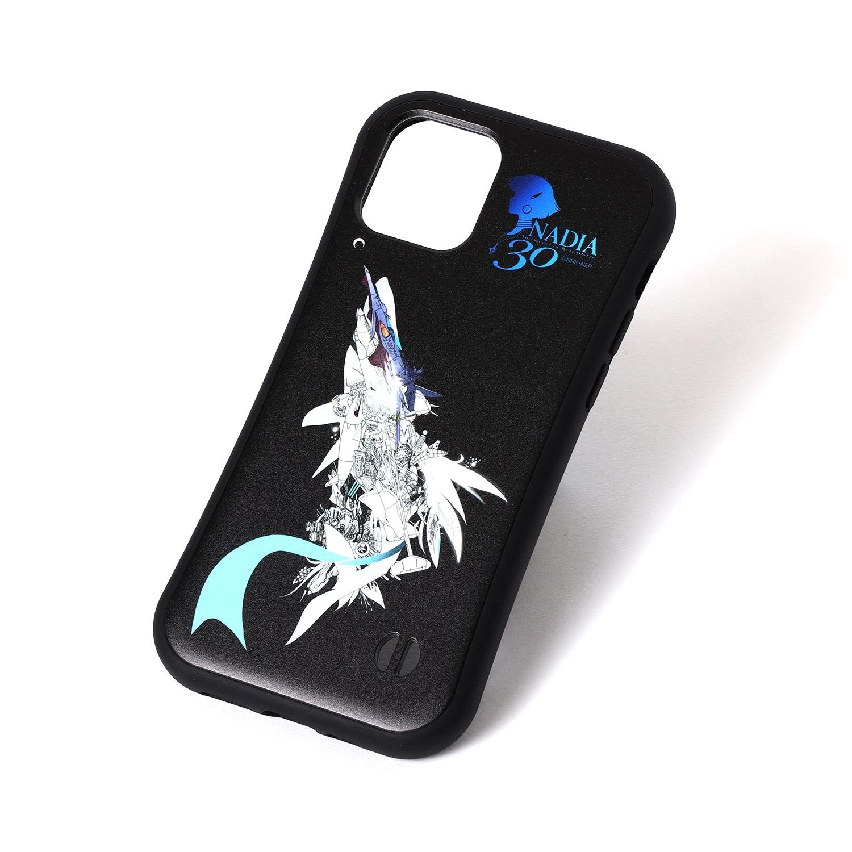 NADIA ν-NAUTILUS Mobile Case by KENTA KAKIKAWA (BLACK)