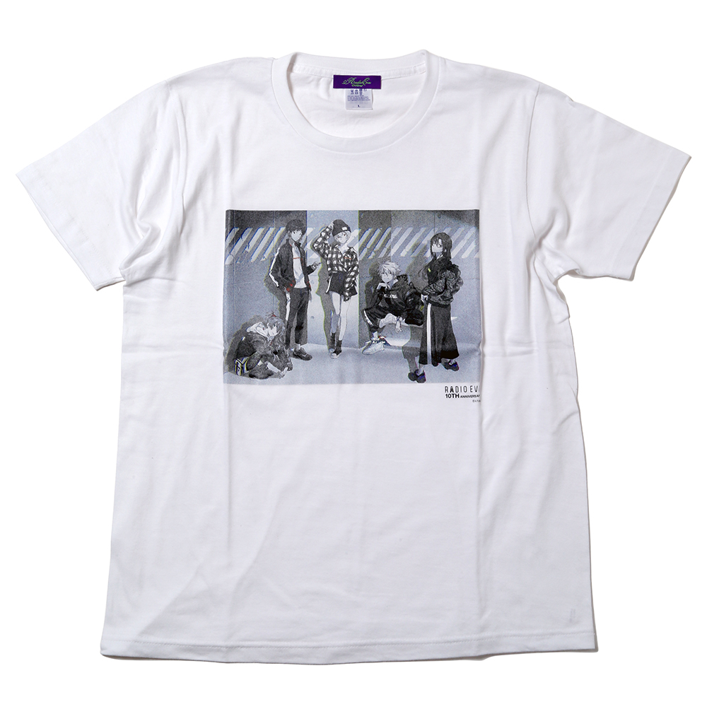 RADIO EVA 10TH ANNIVERSARY:2nd T-Shirt (ホワイト)