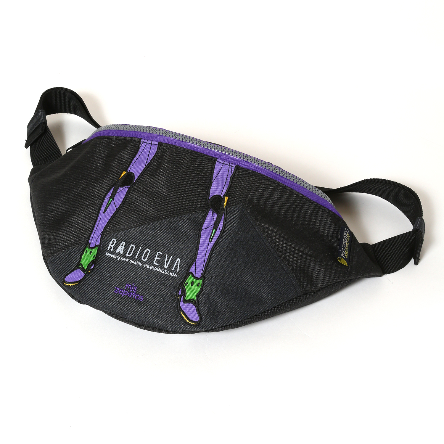 EVANGELION Bicolor Body Bag by mis zapatos (ブラック(初号機))