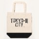 TOKYO-III CITY Tote Bag (BLACK)