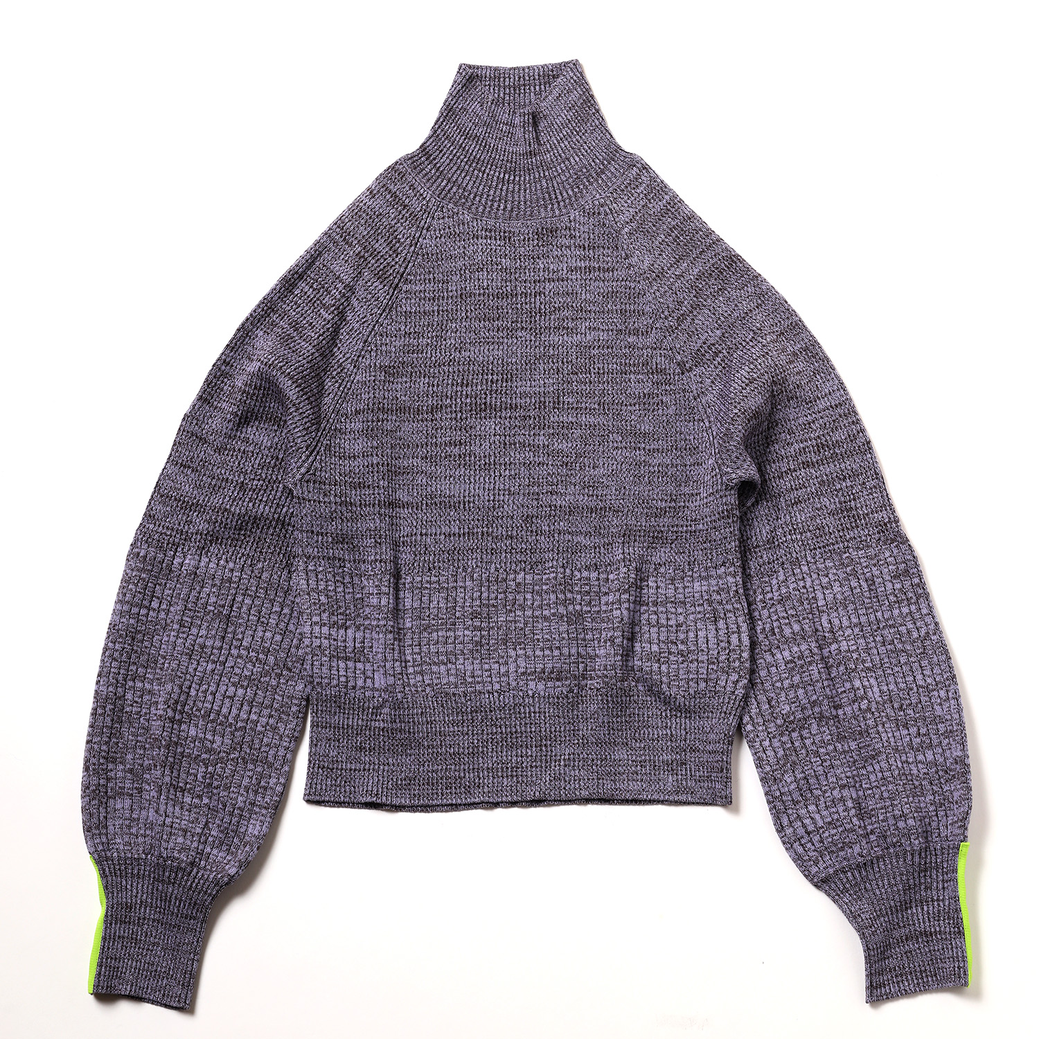 EVANGELION Melange Knit (PURPLE)
