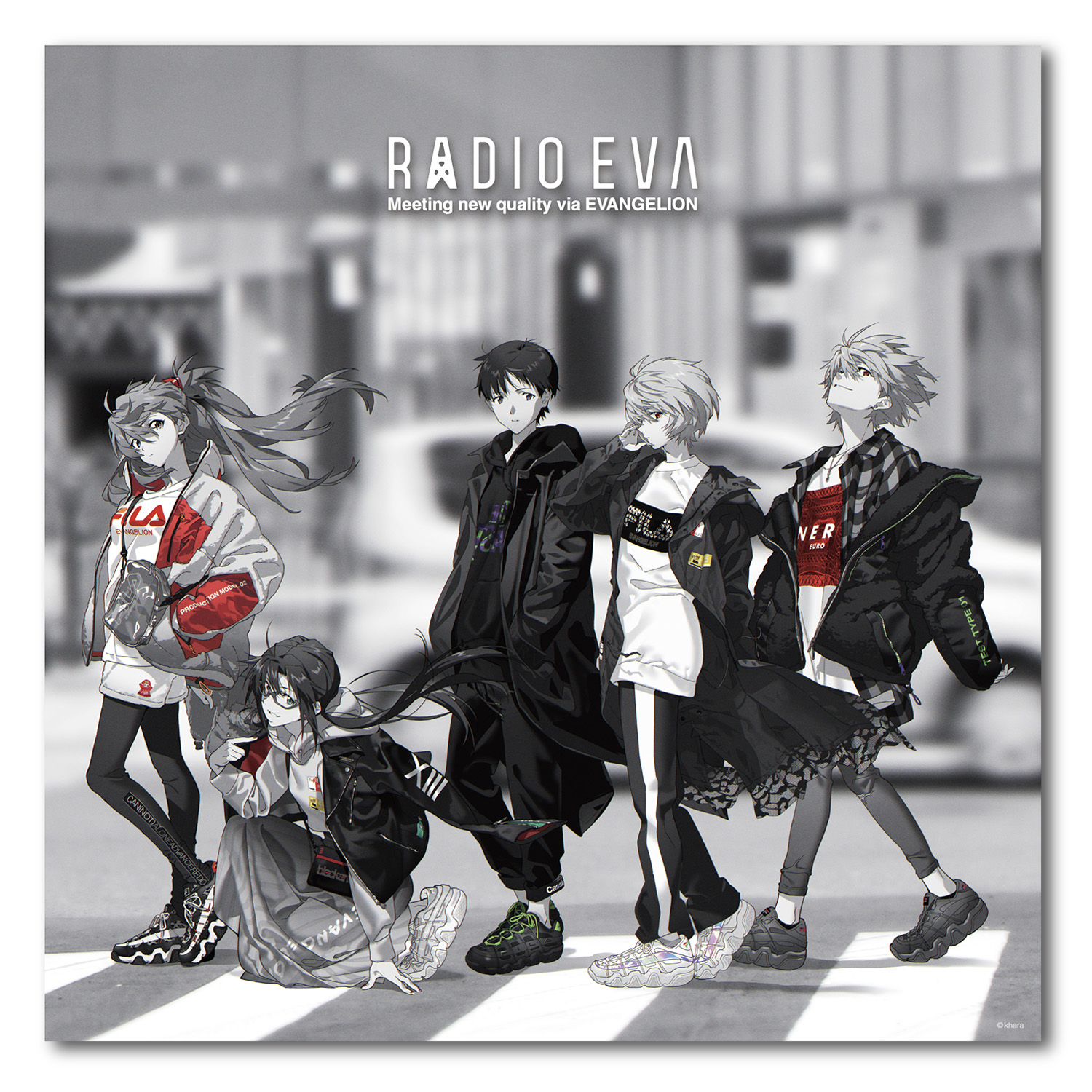 EVA Canvas Art (Large) RADIO EVA STORE OPEN LIMITED