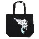 NADIA ν-NAUTILUS Tote Bag by KENTA KAKIKAWA (BLACK)