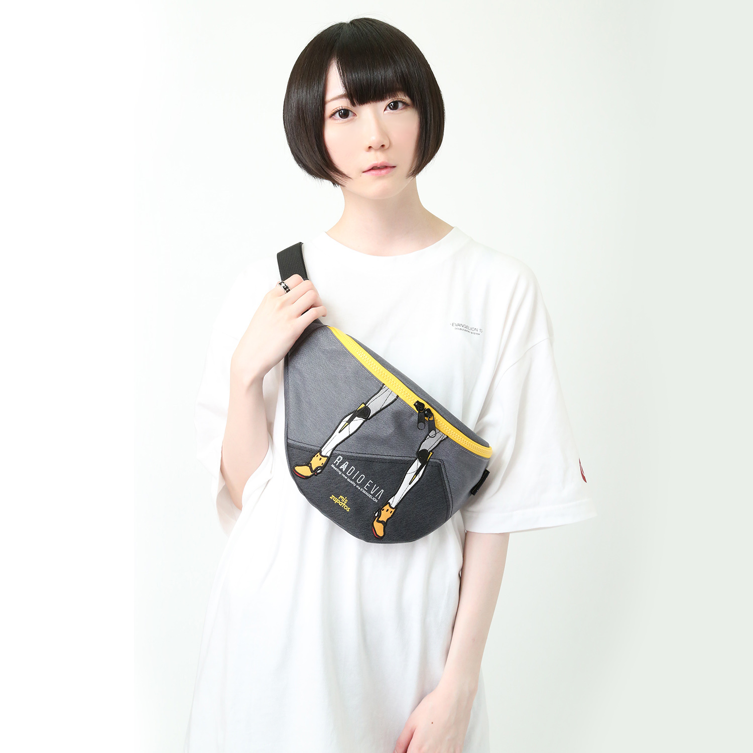 EVANGELION Bicolor Body Bag by mis zapatos (グレー(零号機))