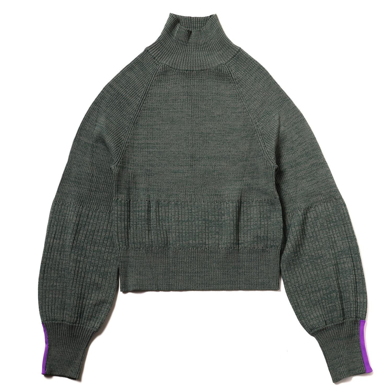 EVANGELION Melange Knit (GREEN)