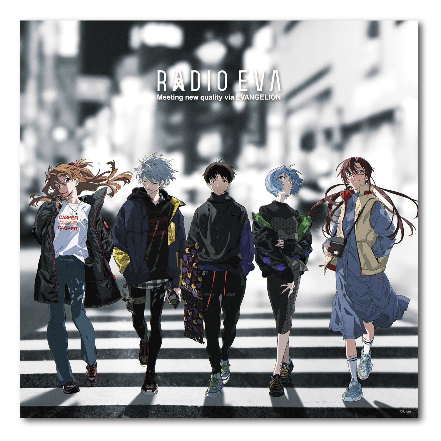 EVA Canvas Art (Large) RADIO EVA STORE 1ST ANNIVERSARY(COLOR)