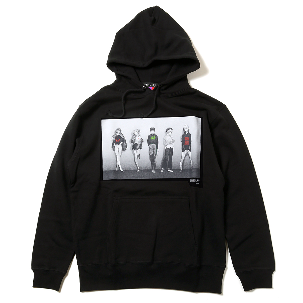 RADIO EVA 10TH ANNIVERSARY Parka (ブラック)