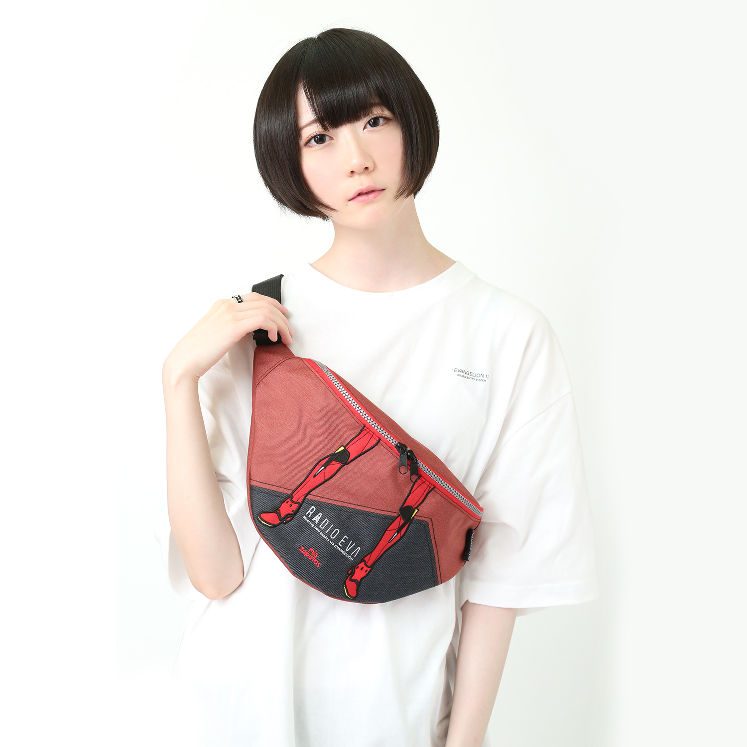 EVANGELION Bicolor Body Bag by mis zapatos (レッド(2号機))