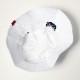 EVANGELION POLYESTER BUCKET HAT (WHITE)