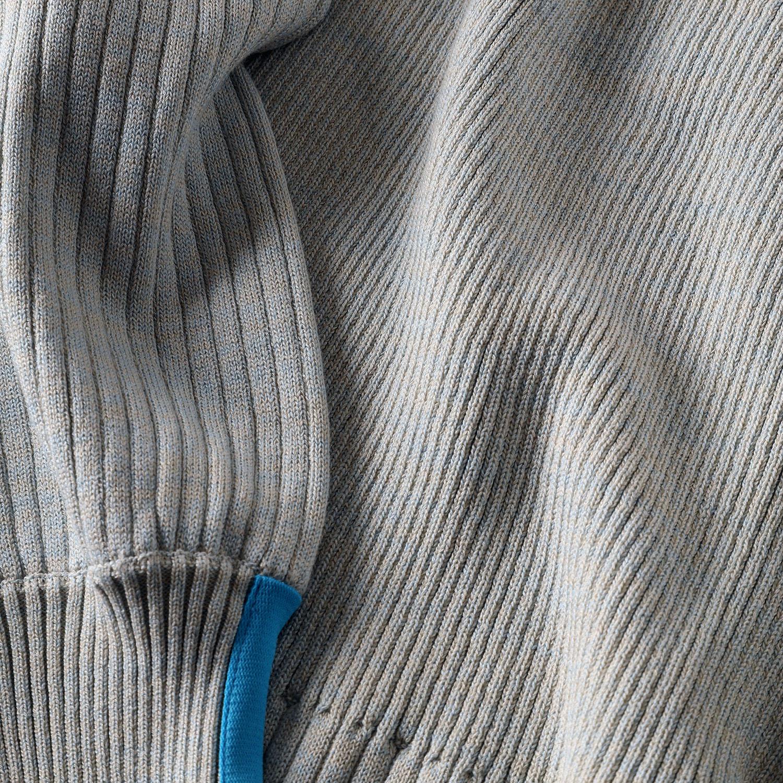 EVANGELION Melange Knit (IVORY)