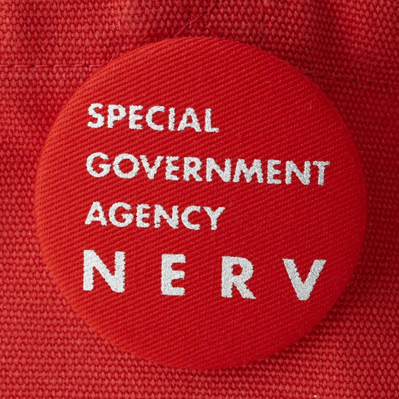 NERV Lunch Bag (レッド×シルバー)