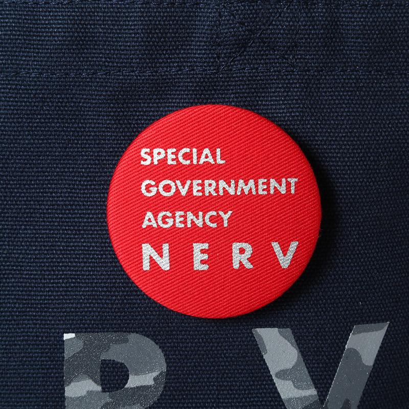 NERV Lunch Bag (ネイビー×カモフラージュ(カヲルモデル))