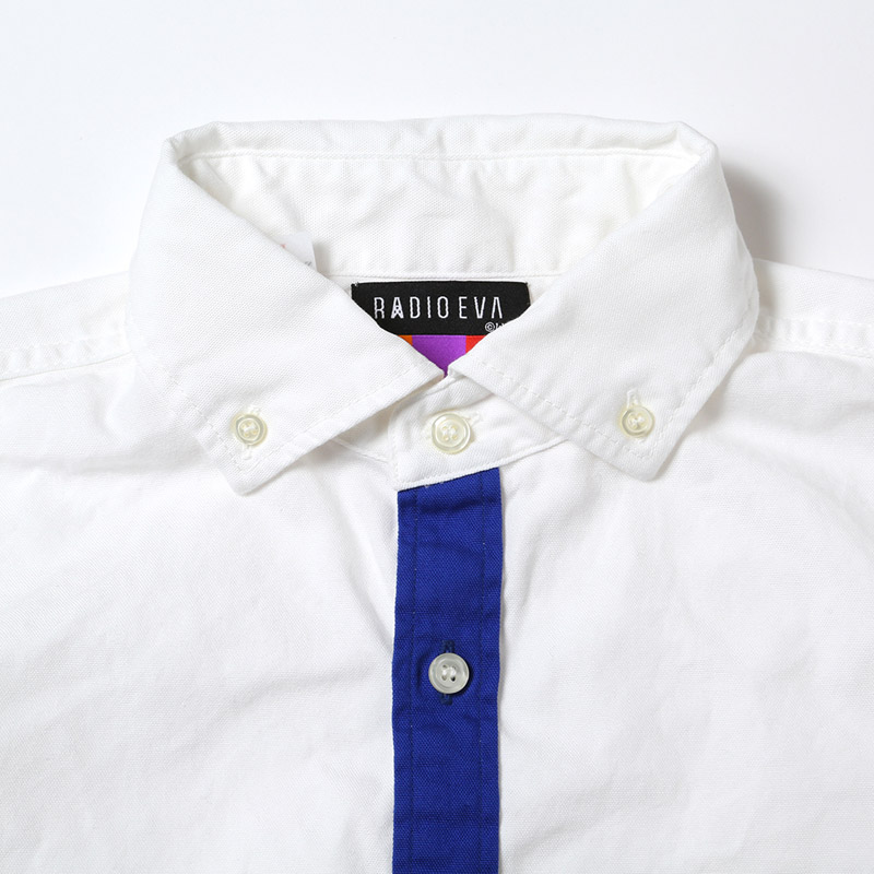 EXCHANGE EVA B.D. OXFORD SHIRTS (ホワイト)