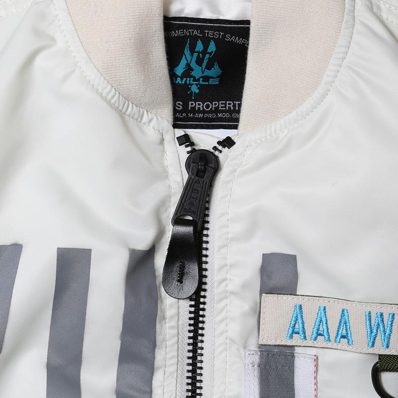 "RADIO EVA × ALPHA MA-1 ""KAMIKAZE CUSTOM"" WILLE EDITION (WHITE)"
