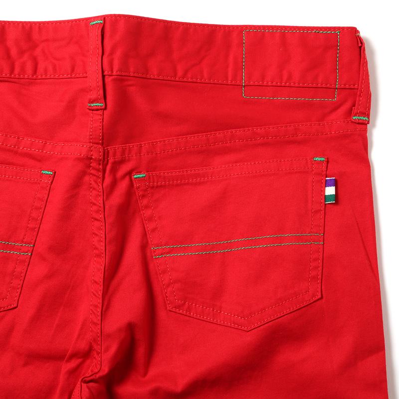 EVA Skinny Stretch Pants (レッド)