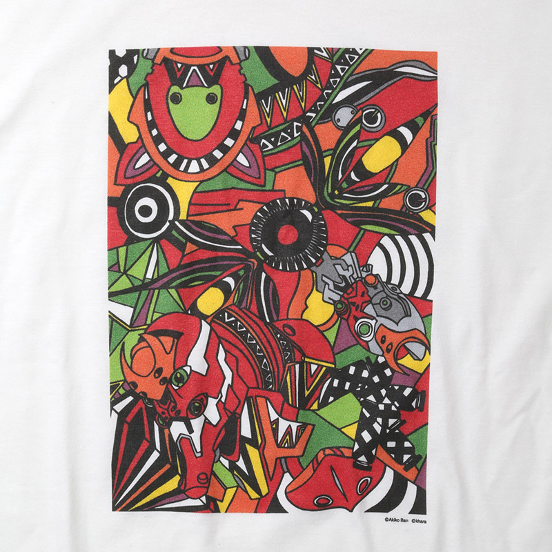 EVA Abstract Art T-Shirt (2号機)