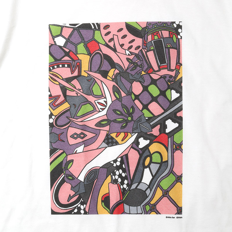 EVA Abstract Art T-Shirt (8号機)
