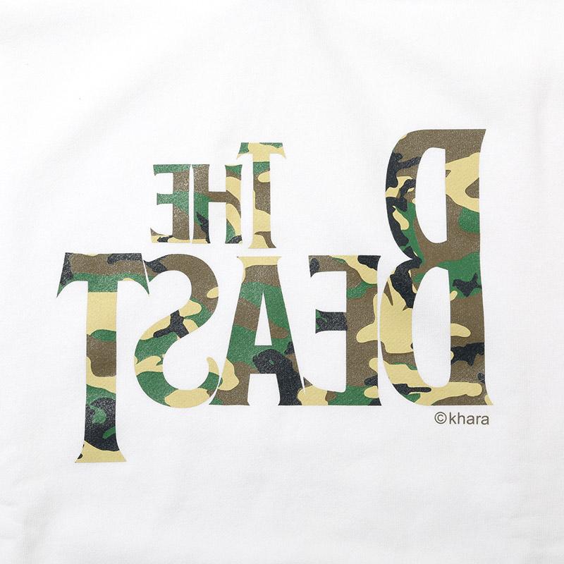 THE BEAST Parka β (ホワイト×カモフラージュ)