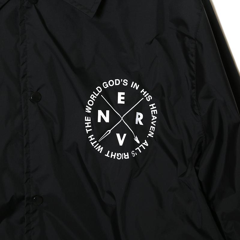 Longinus Art Nylon Jacket (ブラック)