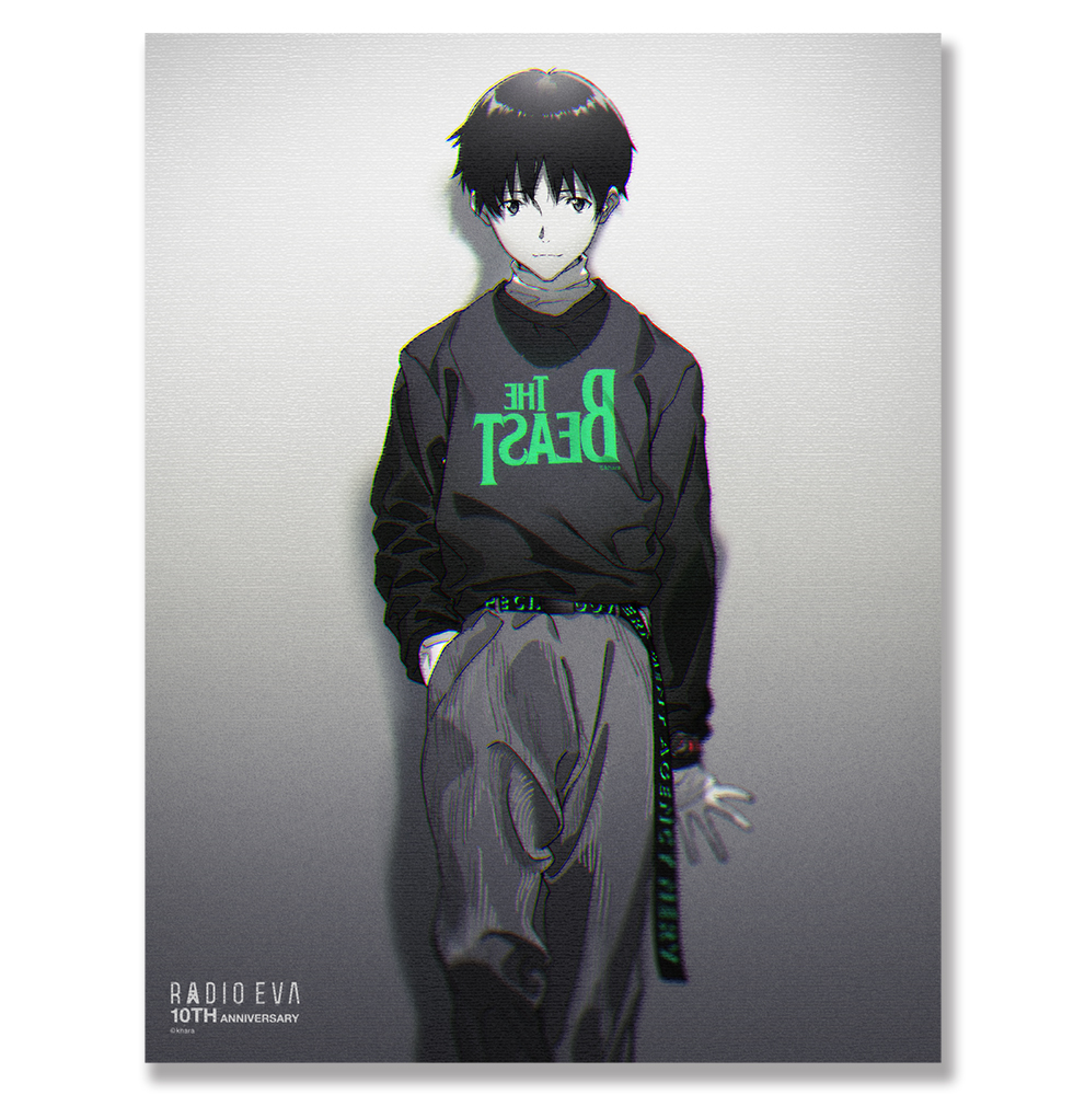 EVA Canvas Art (illustration) (シンジ(RADIO EVA 10TH))