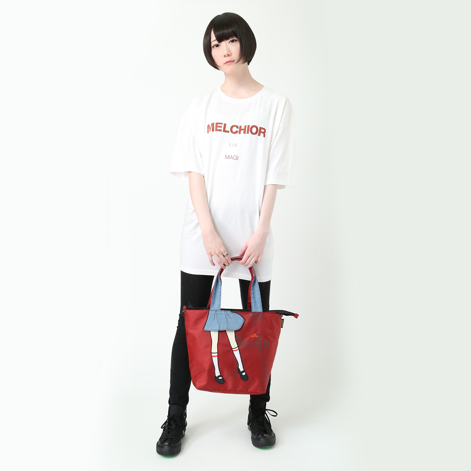 EVANGELION Pilot 2way Tote by mis zapatos (レッド(アスカ))