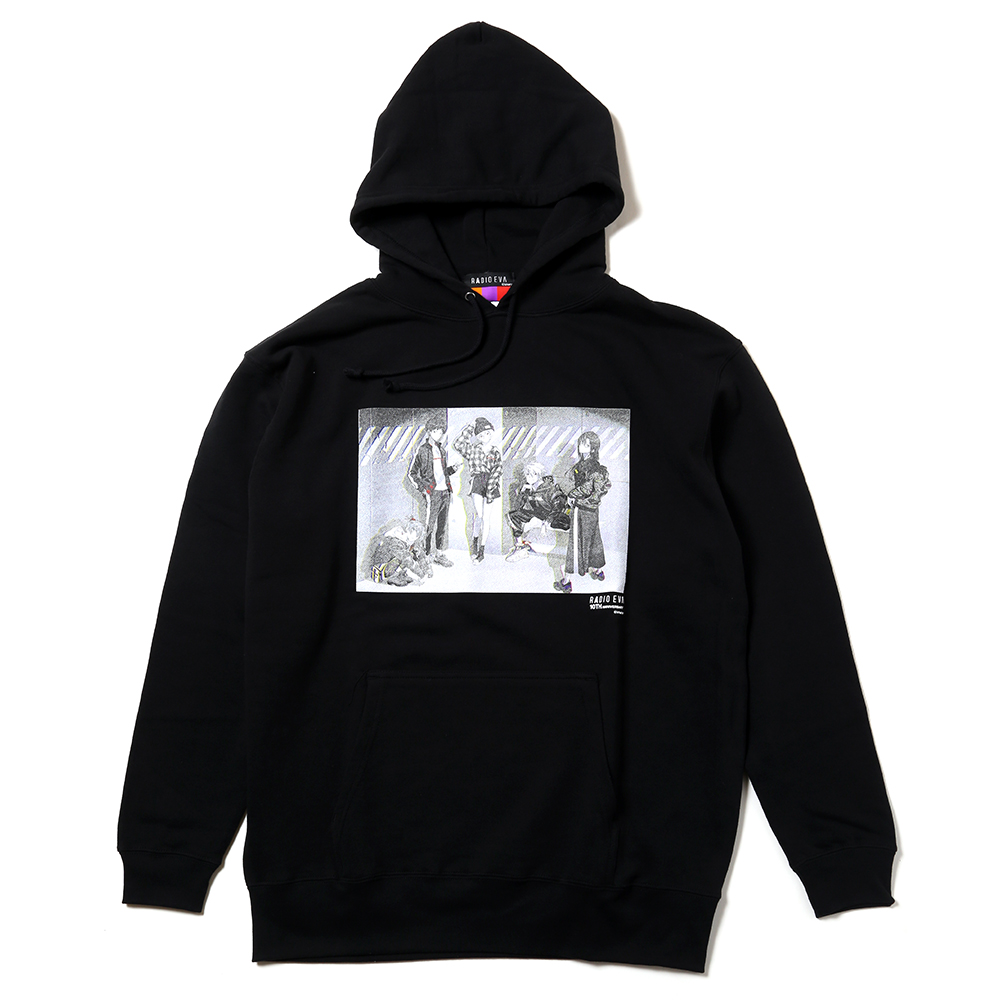 RADIO EVA 10TH ANNIVERSARY:2nd Parka (ブラック)