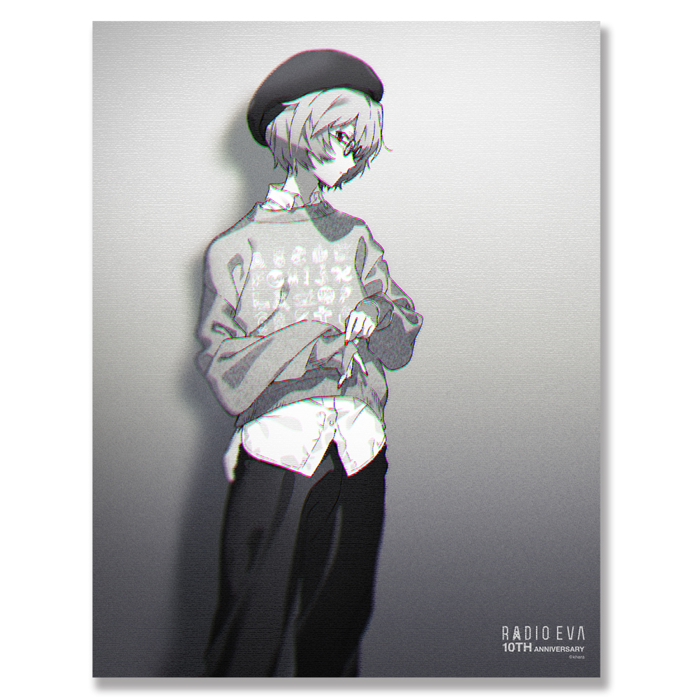 EVA Canvas Art (illustration) (レイ(RADIO EVA 10TH))