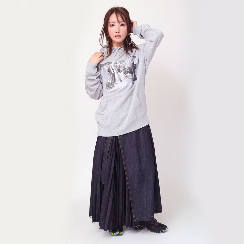 RADIO EVA 10TH ANNIVERSARY:2nd Parka (グレー)