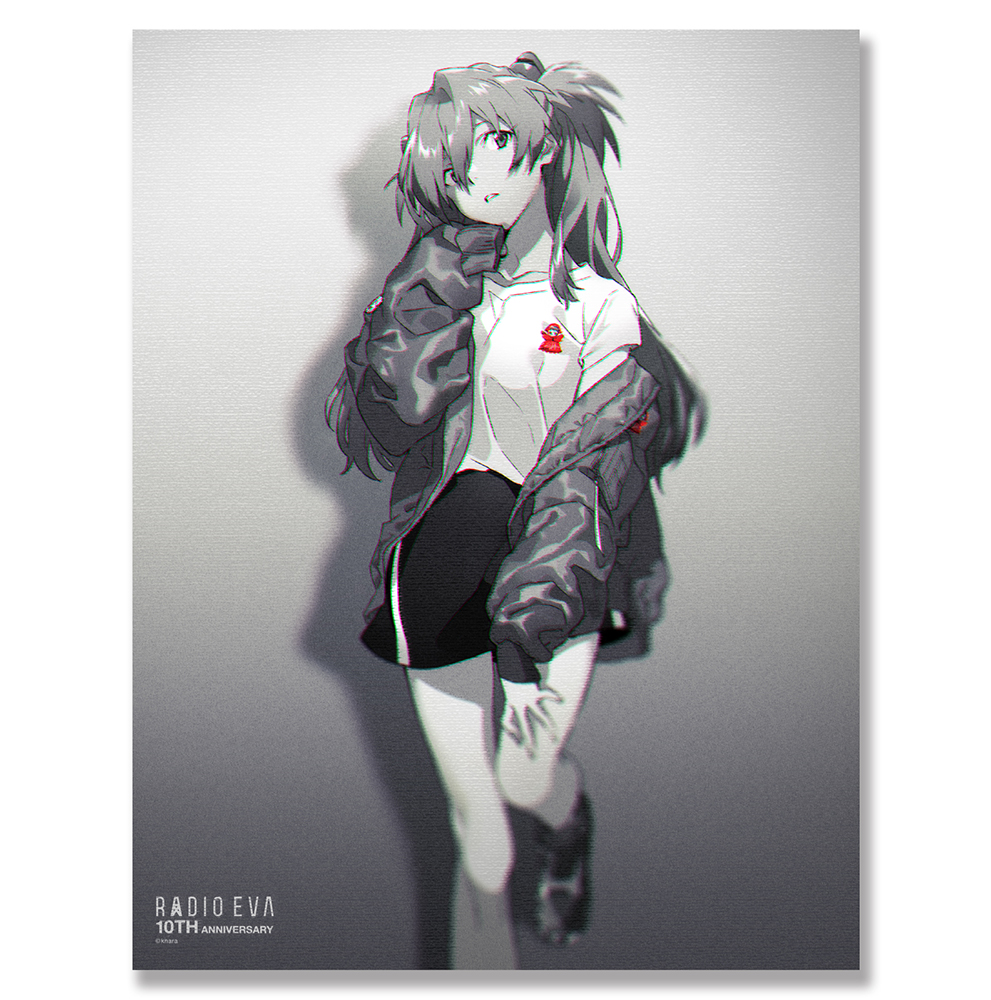 EVA Canvas Art (illustration) (アスカ(RADIO EVA 10TH))