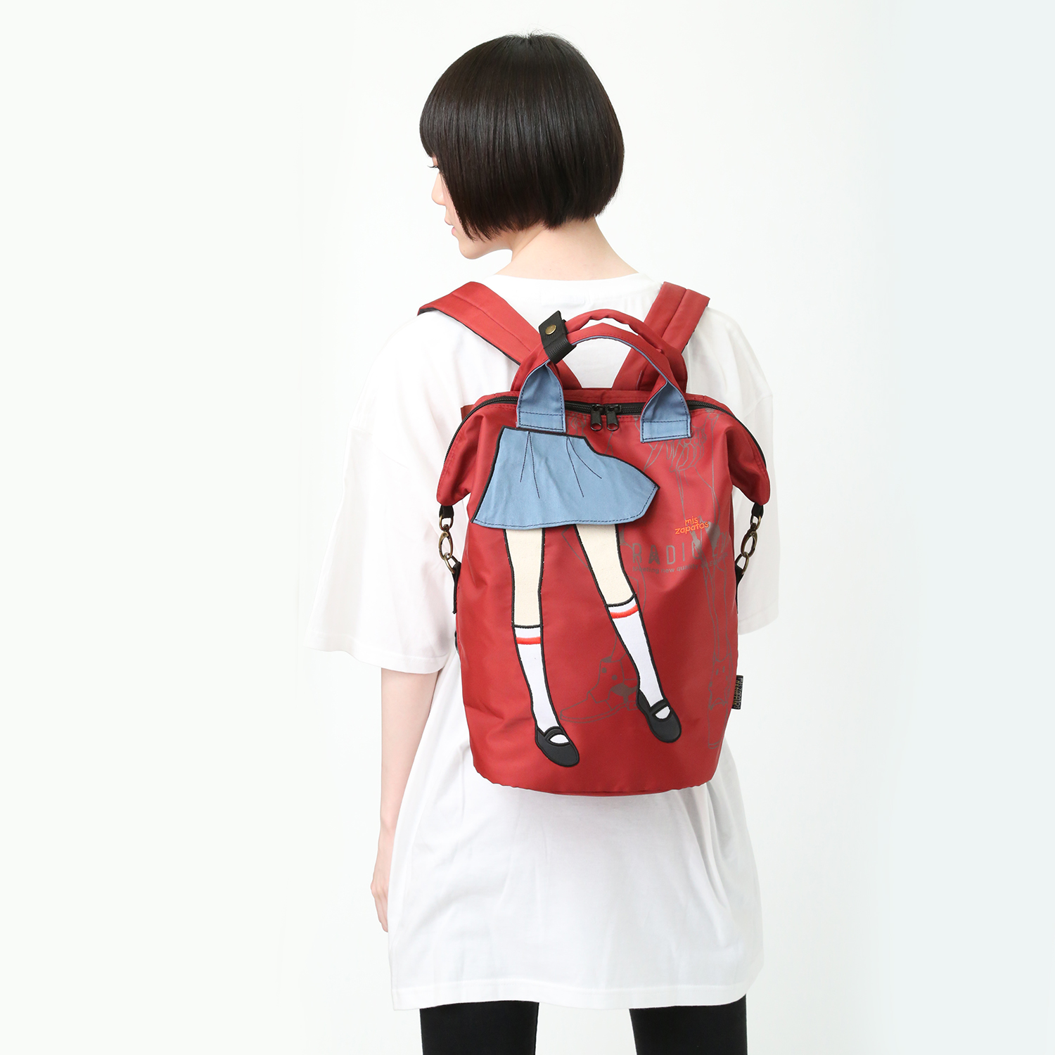 EVANGELION Pilot 3way Back Pack by mis zapatos (レッド(アスカ))