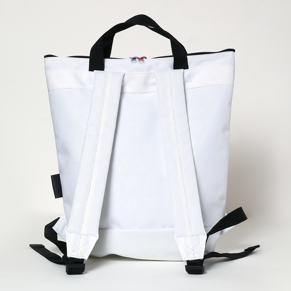 EVA HANDLE BACKPACK by beruf (ホワイト(レイ))