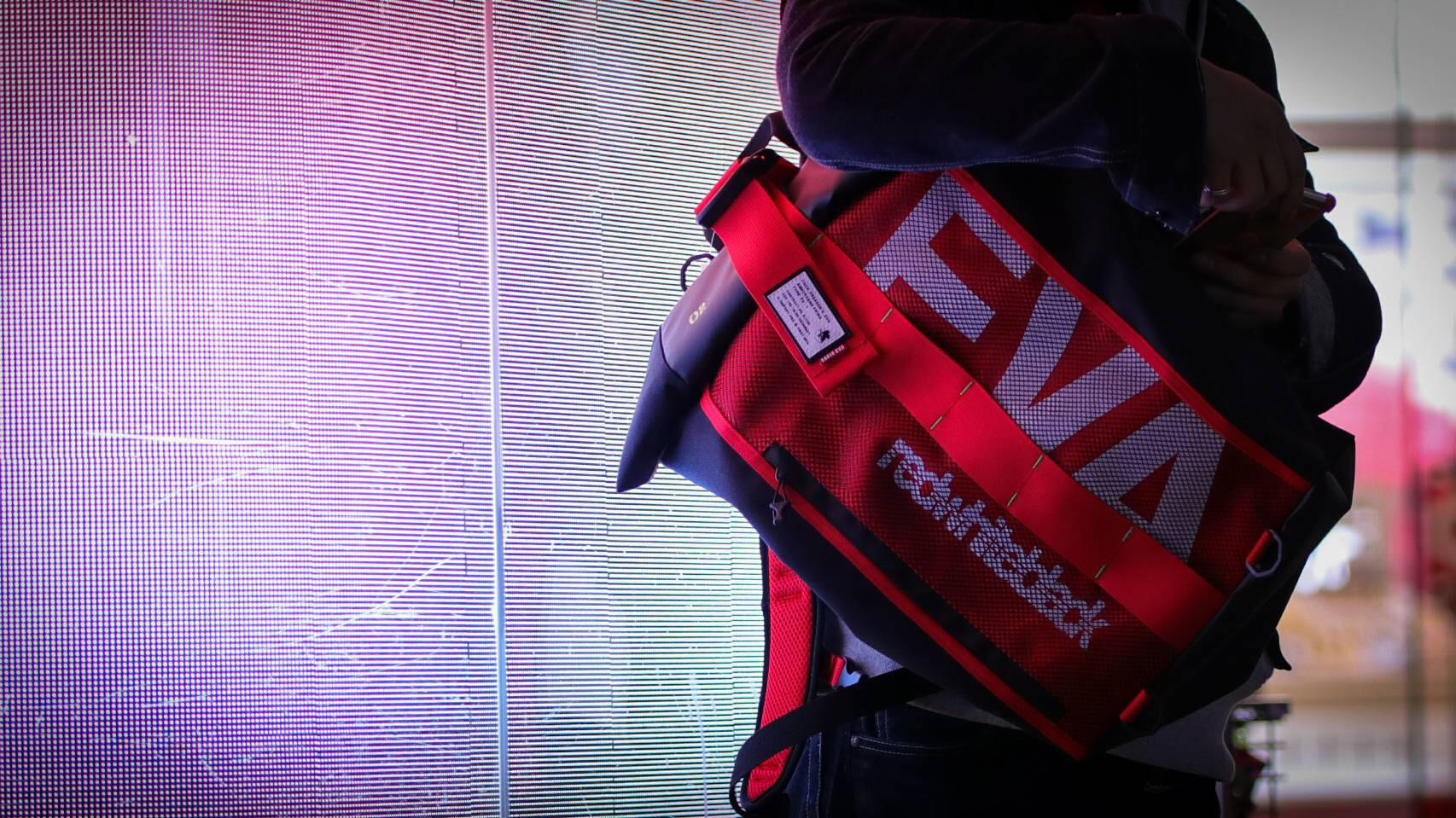 EVANGELION ROLL BACK PACK by FIRE FIRST (EVA-00 MDOEL)