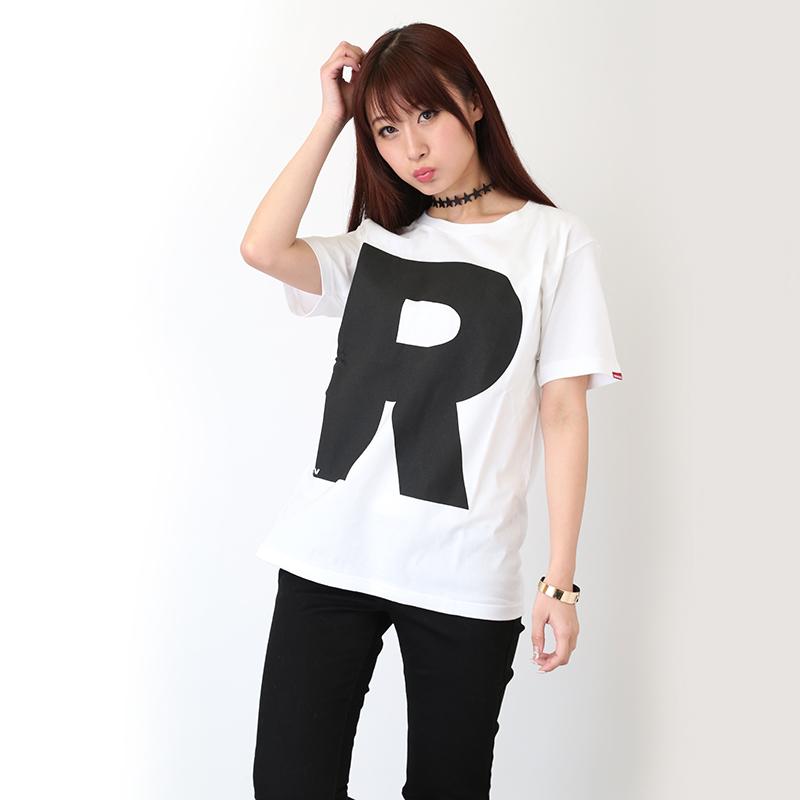 NERV Letter T-Shirt R(ホワイト)