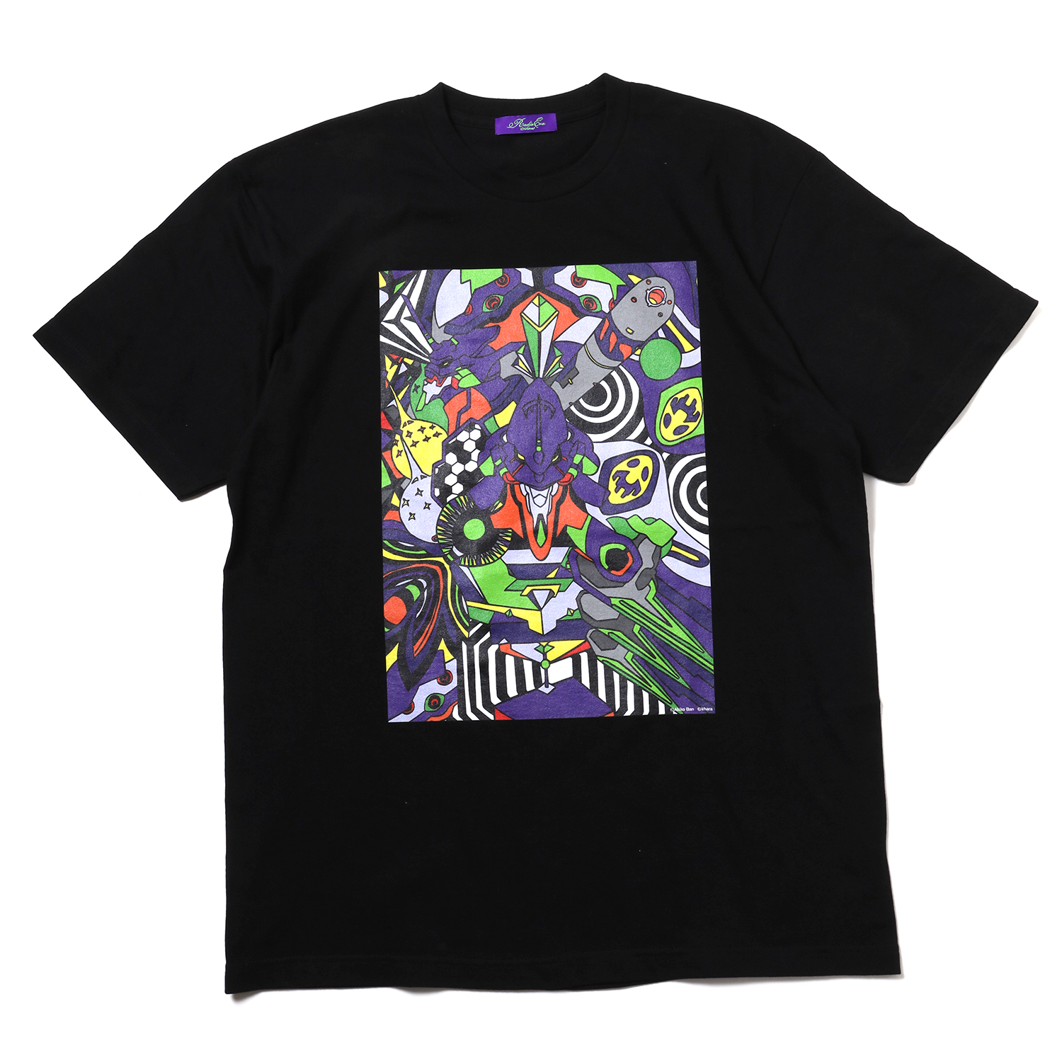 EVA Abstract Art T-Shirt β (初号機)