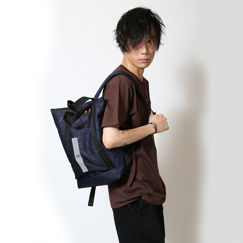 EVA HANDLE BACKPACK by beruf (ネイビー(カヲル))