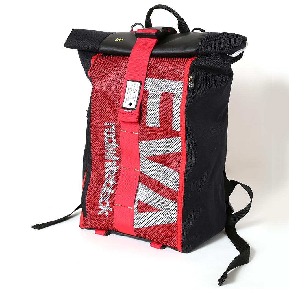 EVANGELION ROLL BACK PACK by FIRE FIRST (EVA-02 MDOEL)